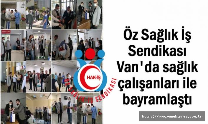Başkan Öznur sağlık çalışanları ile bayramlaştı