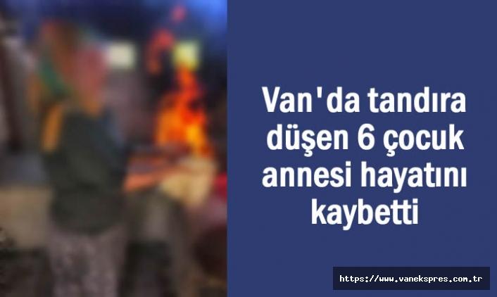 Van'da tandıra düşen kadın hayatını kaybetti