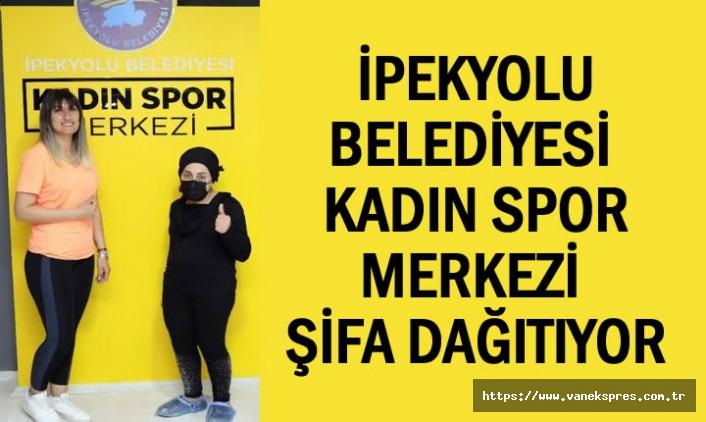 Belediye Spor Merkezi Şifa Dağıtıyor
