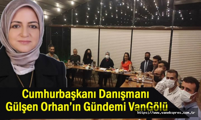 Cumhurbaşkanı Danışmanı Orhan'ın Gündemi VanGölü