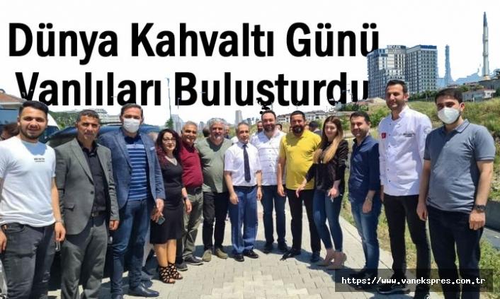 Dünya Kahvaltı Günü Vanlıları İstanbul'da Buluşturdu