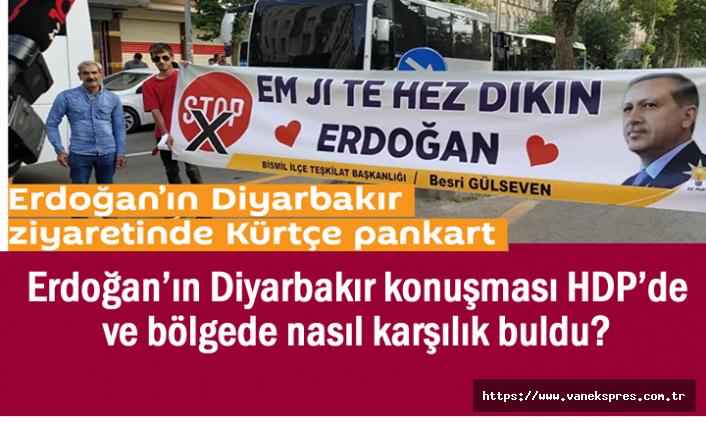 Erdoğan'ın Diyarbakır sözleri HDP'de ve bölgede nasıl karşılık buldu?
