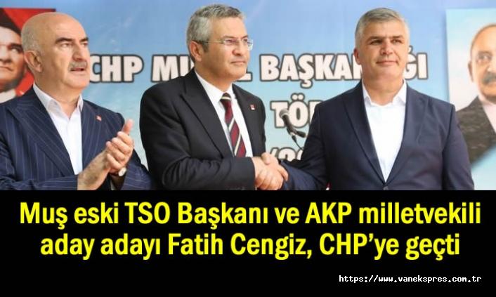 Eski Başkan AKP milletvekili aday adayı CHP'ye geçti