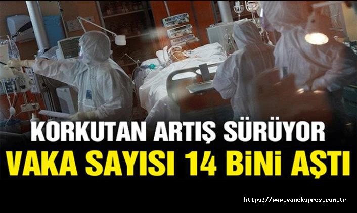 Koronavirüs son durum vaka sayısı 14 bini aştı