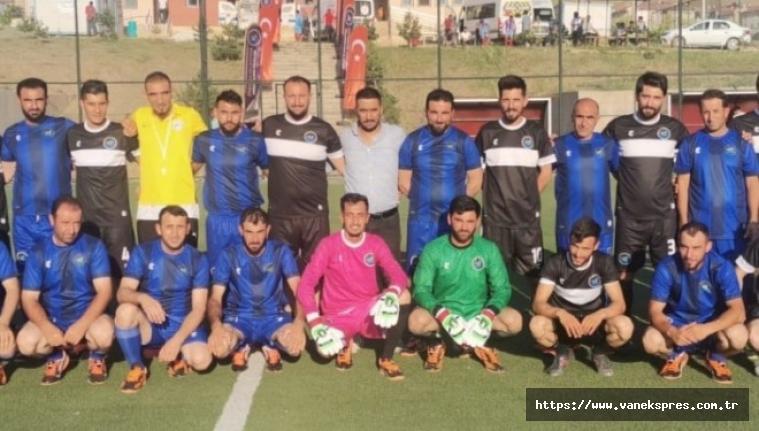Van'da köyler arası futbol turnuvası