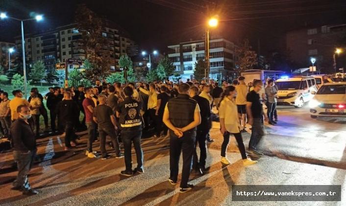 Altındağ'da Suriyelilerin ev ve iş yerlerine saldırı