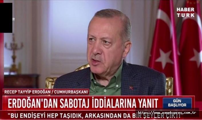 Erdoğan'dan yangın iddialarına yanıt! PKK ile…