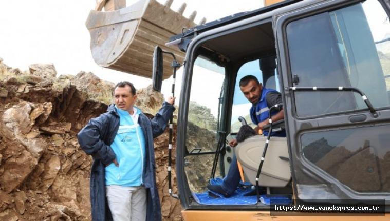 Genel Müdürü, İspiris Dağı'ndaki çalışmaları yerinde inceledi
