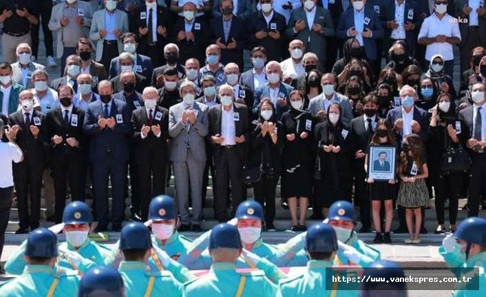 Hayatını kaybeden eski HEP milletvekili için Mecliste tören