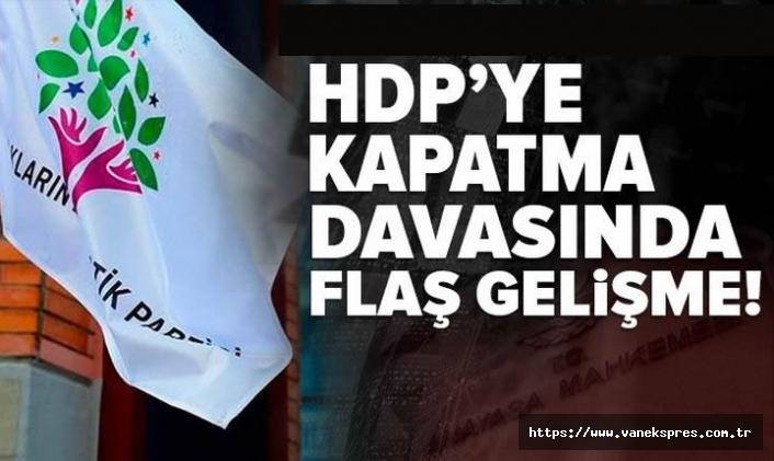 HDP'den kapatma davasına ilişkin yeni gelişme