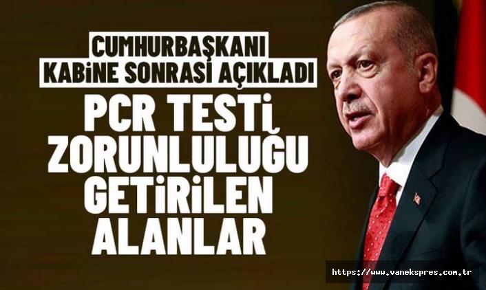 Kabine Toplantısı sonrası Erdoğan: Konser, Tiyatro ve Sinema...