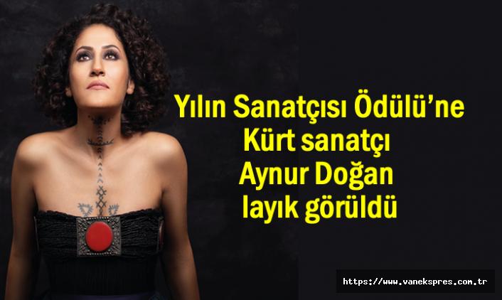 Kürt sanatçı Aynur Doğan'a Yılın Sanatçısı Ödülü