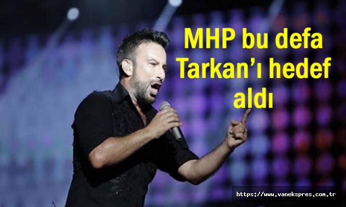 MHP'nin Bu Kez Hedefinde Tarkan Var