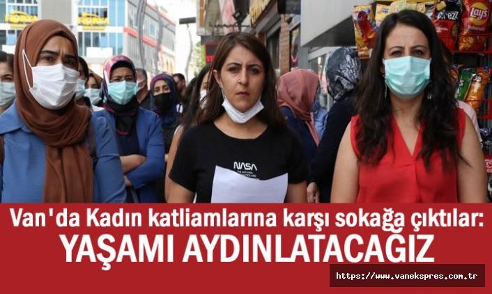 Van'da Kadın katliamlarına karşı sokağa indiler