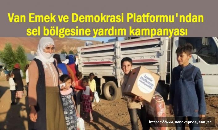 Van Emek ve Demokrasi Platformu'ndan Esenyamaça Kampanya