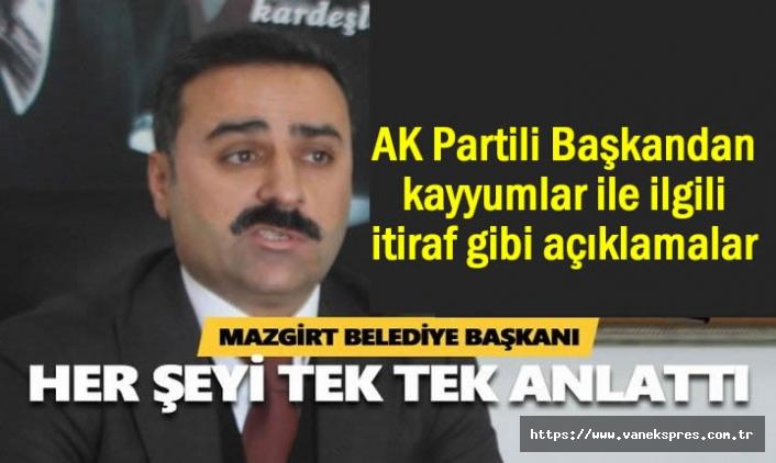 AK Partili Başkandan kayyum itirafı