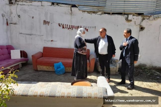 CHP'li Bedirhanoğlu, Van'da selzedelerle bir araya geldi