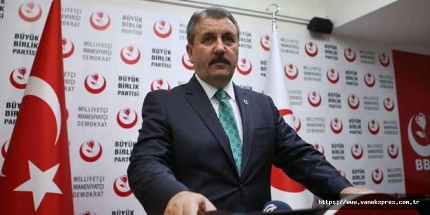 Destici: Türk milletinin tarihin hiçbir döneminde Kürt sorunu olmamıştır