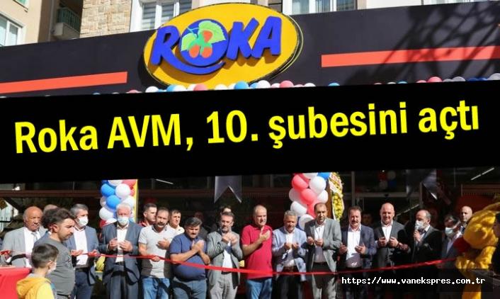 Roka AVM, 10. şubesini açtı