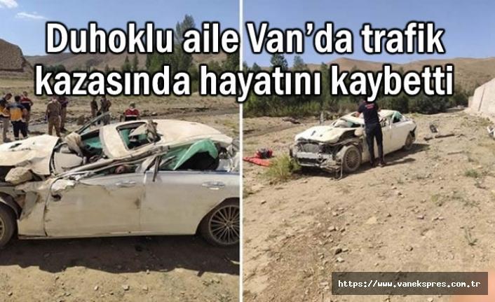Van'da trafik kazası: 2 Ölü 1 Yaralı