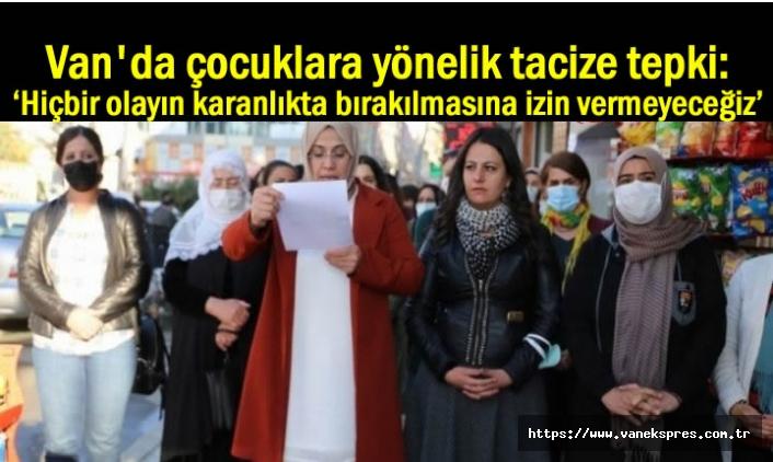 Van HDP'den çocuklara yönelik tacize tepki