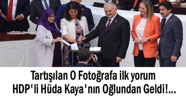 HDP'li Kaya'nın Oğlu O Fotoğrafı Yorumladı
