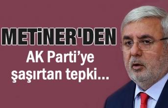 Metiner'den AK Parti'ye şaşırtan tepki
