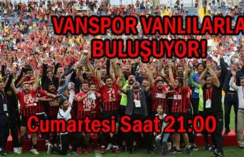 Vanlılar Şampiyon Vanspor'u Karşılamaya Hazırlanıyor