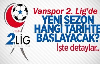 2. Lig Yeni sezon hangi tarihte başlayacak!