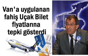 İbrahim Şahin'den Uçak bilet fiyatlarına tepki