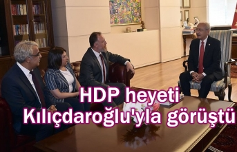 HDP'li bir heyeti Kılıçdaroğlu'yla görüştü