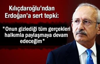 Kılıçdaroğlundan erdoğana sert yanıt