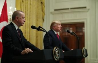 Erdoğan ve Trump basın açıklaması