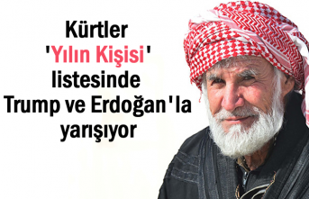 Kürtler 'Yılın Kişisi' listesinde Trump ve Erdoğan'la yarışıyor