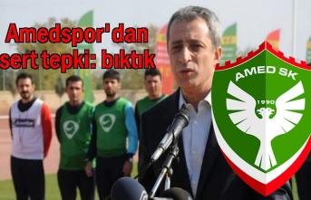 Amedspor başkanı Kılavuz'dan sert tepki: bıktık