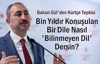 Bakan Gül'den Kürtçe Tepkisi:Bin Yıldır Konuşulan...