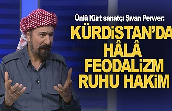 Kürt Sanatçı Perver:Halkımız Fedakar Bir Halktır
