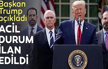 Trump, ABD için  'acil durum' ilan etti