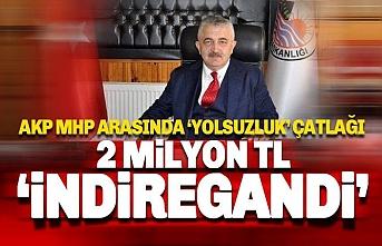 AKP'li başkan 2 milyon TL'yi İndiregandi