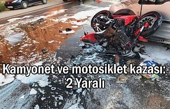Van'da Kaza: 2 yaralı
