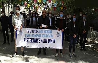 HDP ve DBP'den gazetecilerin tutuklanmasına tepki
