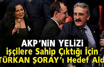 AKP'li Çamlı, sanatçı Şoray'ı hedef aldı