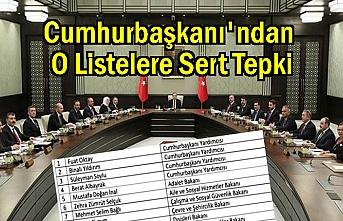 Cumhurbaşkanı Erdoğan'dan o iddialara sert tepki