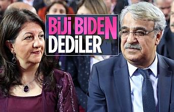 HDP'den Biden'a kutlama mesajı