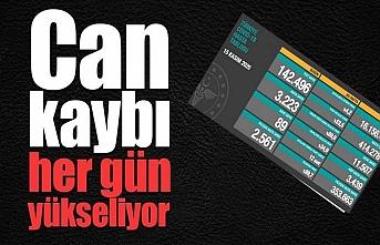 Türkiye'de vaka sayısı arttı, can kaybı yükseliyor