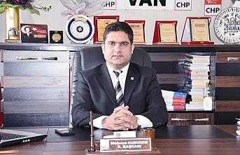 CHP Van İl Başkanı Koronayı Yendi