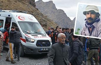 Dağdan düşen 1 kişi Van'da hayatını kaybetti