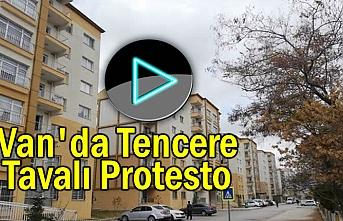 Van'da 3 Milyonluk cezaya tencere tavalı protesto   Video
