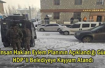 HDP'li Belediyeye Kayyum Atandı