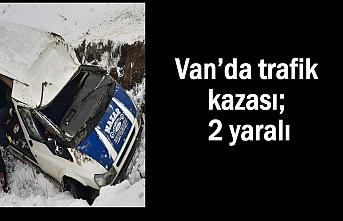 Van'da kaza; 2 yaralı
